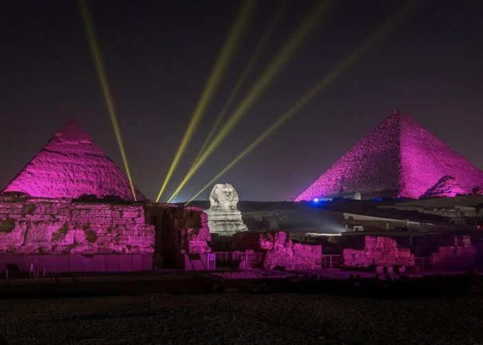 light and sound show by sphinx